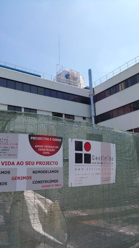 NAV – NAVEGAÇÃO AEREA PORTUGUESA – REABILITAÇÃO DAS COBERTURAS EDIFICIO 118 – LISBOA