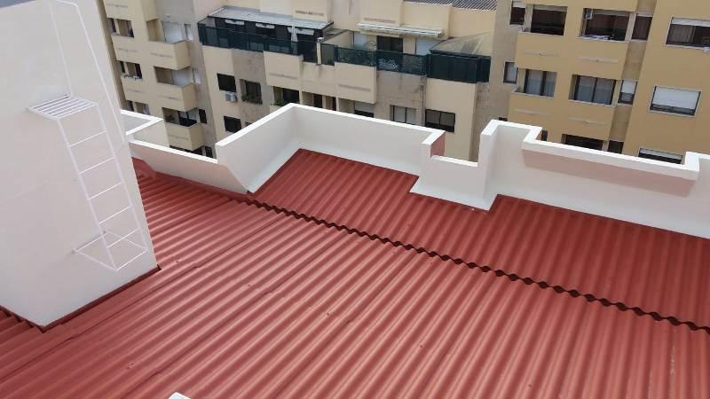 Reabilitação Coberturas Telheiras -Lisboa